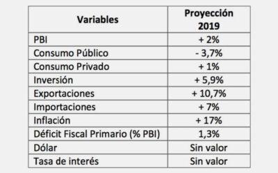 Consideraciones sobre el Informe de Avance de Presupuesto 2019