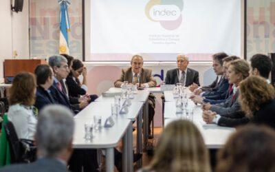 LA OPC Y EL INDEC FIRMARON UN CONVENIO DE COOPERACIÓN