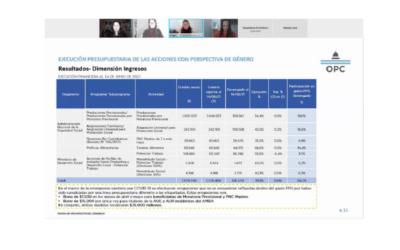 """La OPC participó del Curso """"Presupuesto Público con Perspectiva de Género"""" de la HCDN"""