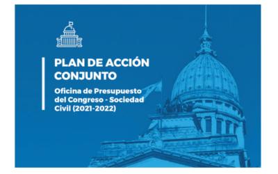 #HablemosDelPresupuesto: presentamos el Plan de Acción Conjunto OPC – Sociedad Civil
