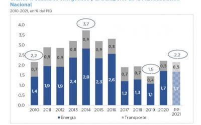 BUDGET BILL 2021 – ENERGY AND TRANSPORTATION SUBSIDIES